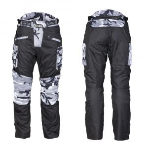 Motorcycle pants W-TEC Kaamuf,Black-camoflage