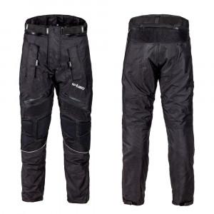 Mens motorcycle pants W-TEC Rusnac NF-2607, Black