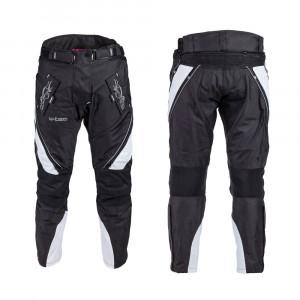 Womens motorcycle pants W-TEC Kaajla NF-2683 - black/white