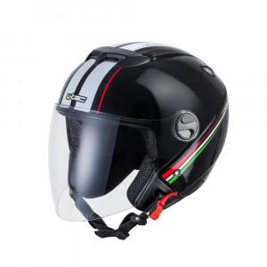 Motorcycle helmet W-TEC YM-617 - Black Corsa