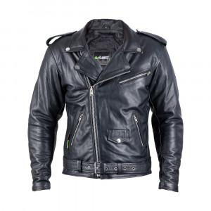 Leather motorcycle jacket W-TEC Perfectis